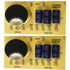 2 X Remplacement 2-Way ENCEINTE PASSIVE CROSSOVER/XOVER 6dB 8 ohms 100 W 2 - 4 kHz