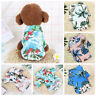 Pet Puppy Summer Shirt Small Dog Cat Pet Clothes Vest T Shirt Beach Style Pug