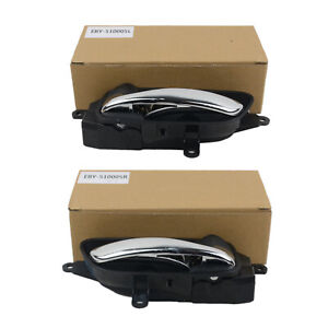 Left + Right Inside Interior Door Handle Pair For Nissan Pathfinder Titan Murano