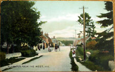 1907 Scotland Postcard: Burrelton from the West - Scottish