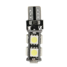 4X Canbas T10 194 W5W 5050 9 SMD Turn Tail Benz BMW LED Light Bulb Lamps White