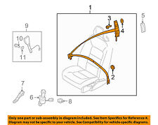 VOLVO OEM 13-16 XC60 Front Seat-Belt & Retractor Left 39817379
