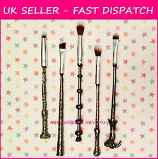 CLEARANCE 5PCS Harry Potter Wizard Wand Make Up Cosmetics Brushes Storybook UK