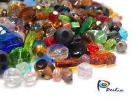 500g Glasperlen Gemischte Bunte Schmuckherstellung Crytal Perlen Mix V1#500g