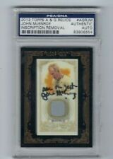 2012 Topps A & G Relics  #AGRJM  -Authentic Auto PSA/DNA Certified- Inscription