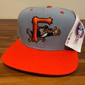Frederick Keys Hat Baseball Cap Snapback Mens New Era Gray MiLB Minors New Tag