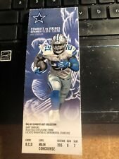 2019 Dallas Cowboys Vs Minnesota Vikings NFL Ticket Stub 11/10