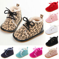 Baby Boys Girls Anti-Slip Shoes Casual Sneakers Toddler Soft Soled First Walkers