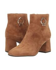 Kate Spade New York Alihandra Bootie Warm Gingerbread Suede Ankle Boot Size 6