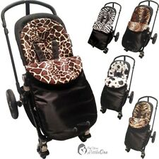 Pushchair Animal Print Footmuff / Cosy Toes Compatible With Hauck