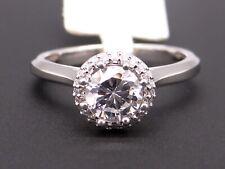 Tacori Platinum Round Cut Diamond Halo Engagement Ring HT2502RD Semi Mount