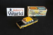 Maxwell Mini Chevrolet Impala 1:43 Taxi, black / yellow (JMR)