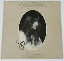 "JESSI COLTER Signed Autograph ""Mirriam"" Album Vinyl Record LP   Waylon Jennings"