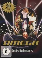 "OMEGA ""GREATEST PERFORMANCES - 2DVD-SET"" 2 DVD NEUF"