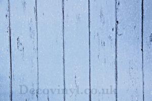 Distressed Blue Wood Sticky Back Plastic Worn Grained 3d Fablon Washable PVC UK