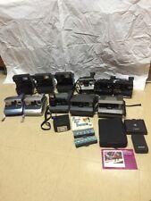 Huge Polaroid 11 Camera Lot 600 SX-70 Spectra Sonar Impulse Tested Onestep Onyx