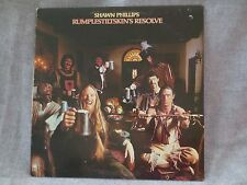 VINTAGE VINYL 1976 SHAWN PHILLIPS RUMPLESTILTSKIN'S RESOLVE LP RECORD A&M SP4582