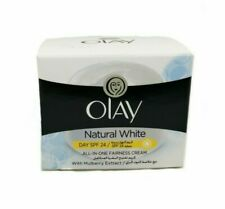 Olay Natural White With Mulberry Extract 50g All in One Fairness Cream DAYSPF 24