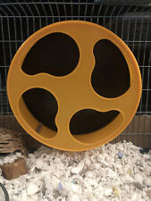 """New listing Silent Runner Wheel 9"""" + Cage Attachment - Durable & Quiet - Hamster Gerbil Mice"""