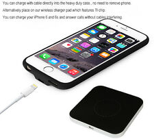 iPhone 6 and 6s Wireless Phone Receiver Case and Charger Mat