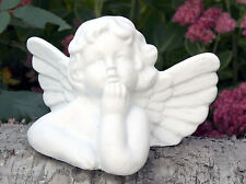 Steinfigur Engel Putte Grabschmuck Gartendeko Gartenfigur Skulptur