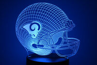 Los Angeles Rams Jared Goff Todd Gurley Aaron Donald LED Lamp Home Decor Gift