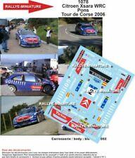 Voitures de sport miniatures bleus Citroën