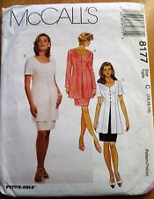 McCALL'S SEWING PATTERN  NO. 8177 LADIES SUIT  SIZE 10,12 14