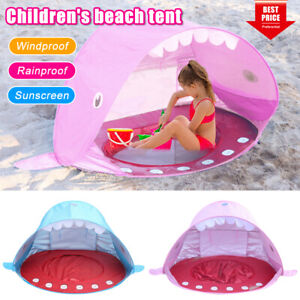 Baby Beach Sun Shelters Tent Pop Up Portable Pool UV Shade Protection For Infant