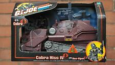 GI Joe Valor vs Venom COBRA HISS Vehicle with Neo VIPER Figure Sealed ARAH