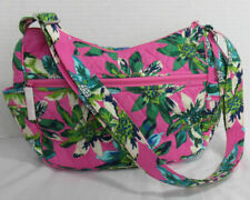 Vera Bradley Women Purse Bag Handbag on the go Crossbody TROPICAL PARADISE new