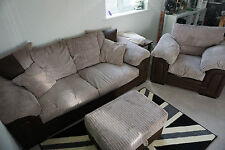 Fabric DFS Furniture Suites with Footstool
