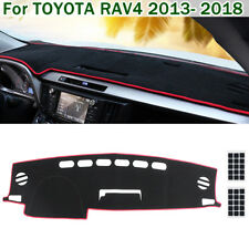 Red Car Interior Dashboard Dashmat Dash Mat Pad Cover For TOYOTA RAV4 2013-2018