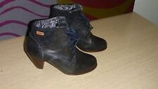 Camper Sz 36 Ankle Boots Black Quilting Panel Free Post Buy It Now