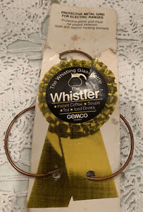 Vintage THE WHISTLER by Gemco Protective Metal Grid on Card Stock - made USA