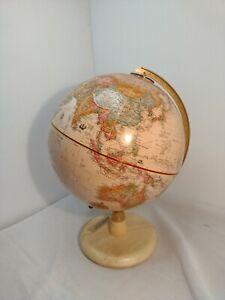"Replogle 9"" Diameter Globe With Wood Base"