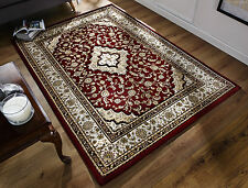 Ottoman Temple Rugs Traditional Hand Carved Wilton Rugs In Red 160X230cm