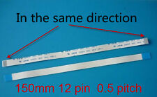 150mm 12 pin 0.5mm pitch Power Button Ribbon Cable For DV9000 DV6000