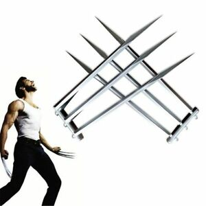 1Pair X-Men Wolverine Logan Claws Blade Refinement Cosplay Props Size For Child