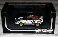 HPI Racing 980 1/43 Lancia Stratos HF Rallye Monte Carlo 1977 Munari RARE