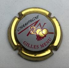 MENU GILLES - N° 617 - CUVÉE AN 2000 - CAPSULE CHAMPAGNE