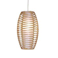 Natural Twist LIBRO CIONDOLO Soffitto Luce non elettrici luce ombra EASY FIT