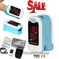 FDA Finger Tip Pulse Oximeter Blood Oxygen Saturation SPO2 Heart Rate Monitor US