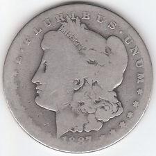 1887 S MORGAN U.S. SILVER DOLLAR RARE COLLECTIBLE 131 YEAR OLD KEY DATE