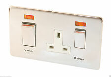 Crabtree & Evelyn 2-Gang Electrical Home Cookers Switches
