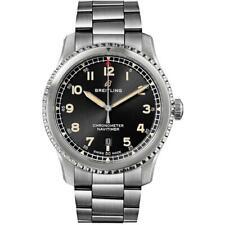 Breitling A17315101B1A1-187A Aviator 8 41MM para Hombre de Acero Inoxidable Reloj