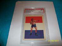 1956 ADVENTURE GUM CARD #80 MARVIN HART PSA NM 7