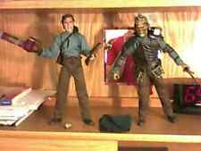 Army of Darkness Sideshow 12 inch Doll Figure Ash Evil Ash Bruce Campbell Lot 2