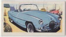 Early 1960s Ford Zephyr Lynx Auto Car c55+ Y/O Trade Ad Card