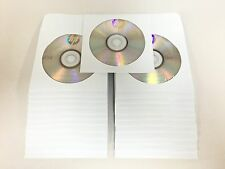 25 Pack HP 16X Logo DVD-R DVDR Blank Disc Media 4,7GB With White Paper Sleeves